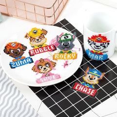Paw Patrol - Diamond Painting Sticker