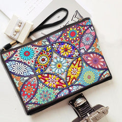Flowers - Diamond Painting Pouch