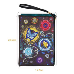 Flowers and Butterflies - Diamond Painting Pouch