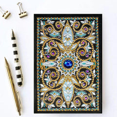 Diamond - Diamond Painting A5 Notebook