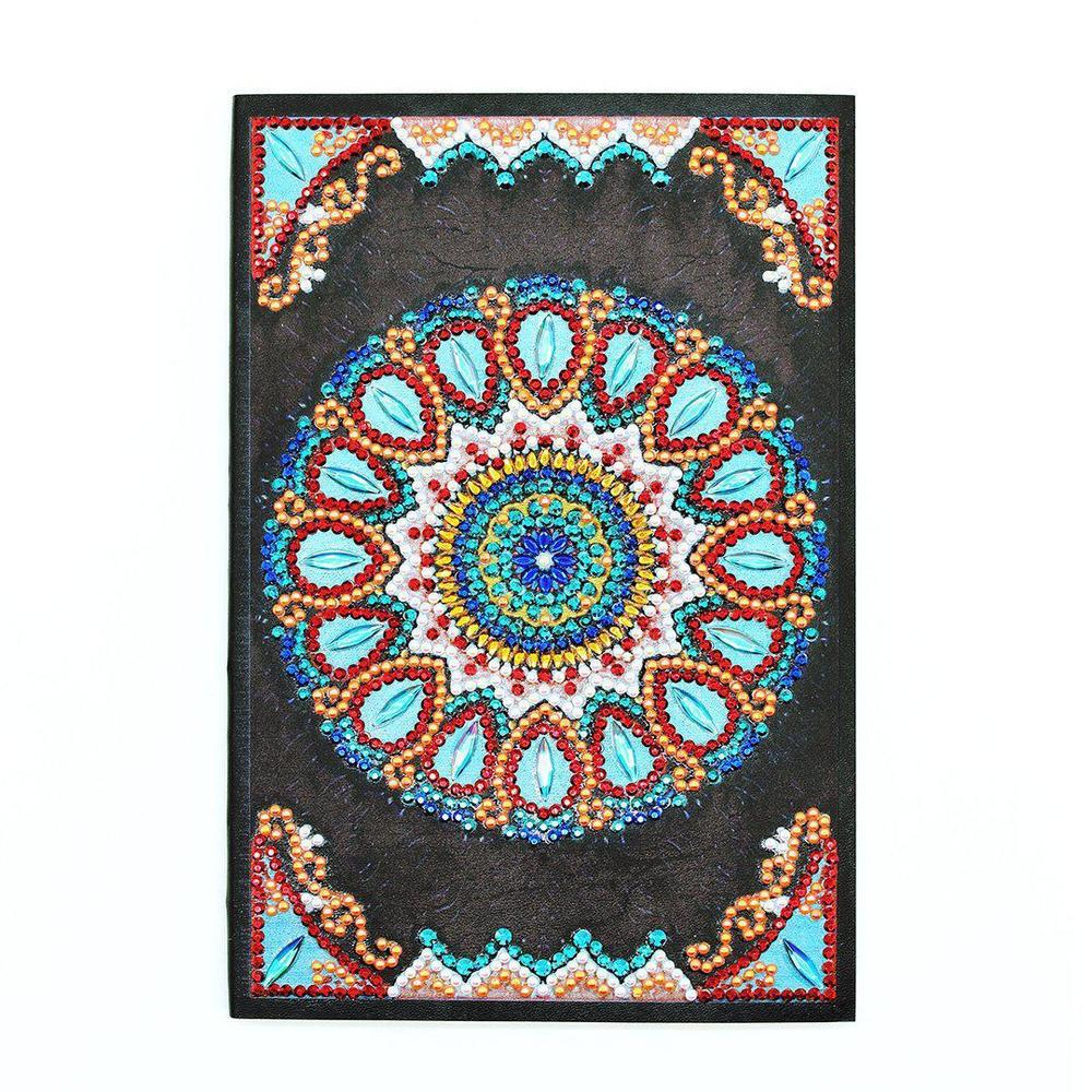 Mandala - Diamond Painting A5 Notebook