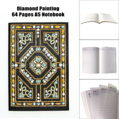 Maze - Diamond Painting A5 Notebook