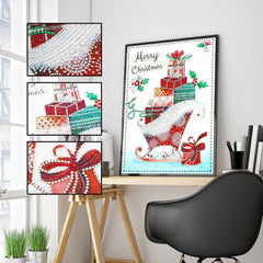 Merry Christmas Gemstone - Diamond Painting Kit