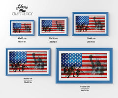 Veteran Tribute - Diamond Painting Kit