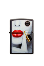 Zippo Lighter Locked Lips