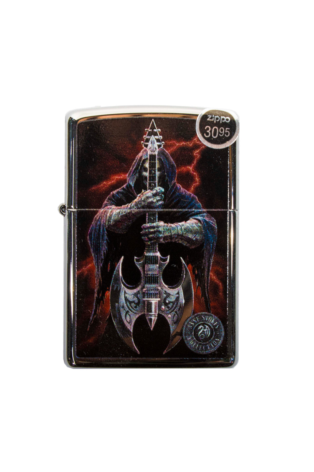 Zippo Ghost with Guitar  Lighter