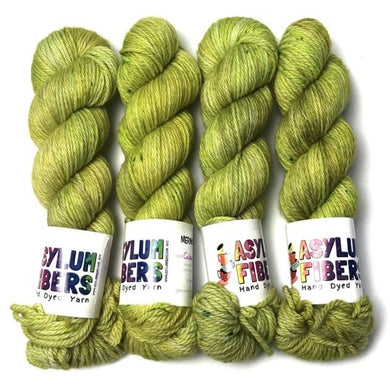 Cabbages & Kings on Merino Aran - Ready to Ship
