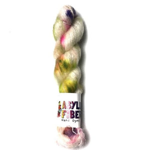 Wild Flower on Mohair - Ready to Ship