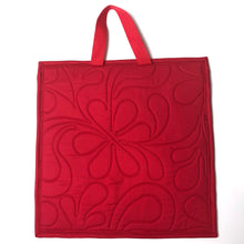 Limited Edition Peek-a-boo Flat Quilted Bag