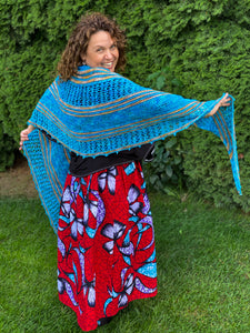 Flutter & Fly Shawl Kit 15