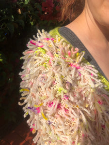 PREORDER - Unbirthday Cardigan Kit in Wild Flower
