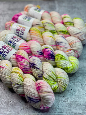 Wild Flower on Sparkle DK - Ready to Ship