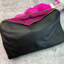 "Hidden Message Pouch ""Embrace Your Crazy"" Bag"