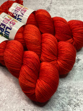 Hot Temper on Cashmere Sock - Ready to Ship