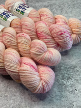 Peonies, Please on Merino Aran - Ready to Ship
