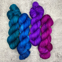 4 Color Set A on Twisted Sock - Ready to Ship