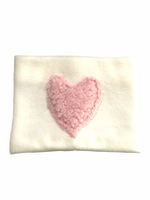 Frankie&Chief Snood - Heart fleece cream