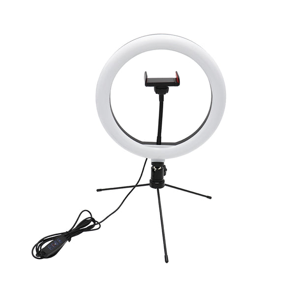 Content Creator - 26cm LED Ring Light & Tripod Desktop Stand