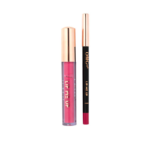 LIP ME UP Matte Liquid Lipstick & Lip Liner - Pink is the New Glam