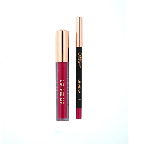 LIP ME UP Matte Liquid Lipstick & Lip Liner - Knickerbocker