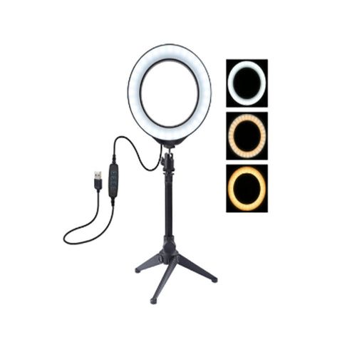 Content Creator - 16cm LED Ring Light