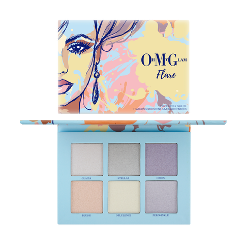 Oh My Glam Flare Highlighter Palette