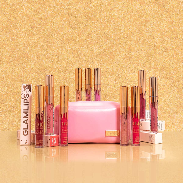 It's In the Bag - GLAMLIPS 10 Piece Collection