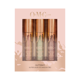 Oh My Glam GLITTERATI Glitter Liquid Eye Shadow Trio