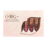 Oh My Glam Matte-Tastic Mini-Matte Liquid Lipsticks Set