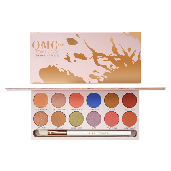 Oh My Glam Peachy Eyes Eye Shadow Palette