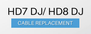 How to replace Cable on Sennheiser HD7 DJ & HD8 DJ Headphones