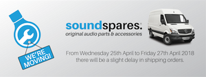 SoundSpares® Is Moving!