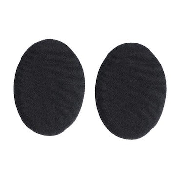 Sennheiser ear pads circular with foam disc. 1 pair - Black - 510633