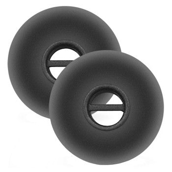 Sennheiser black silicone ear tips in large (5 pairs) - 550296
