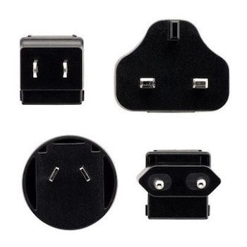 Sennheiser replacement adaptor set EU-UK-US-AU - 572214