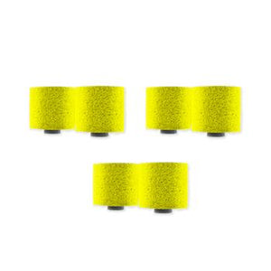 Etymotic ER38-14C Large Yellow Foam Eartips - 3 pairs