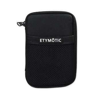 Etymotic ER38-65D Black Deluxe Earphone Storage Pouch