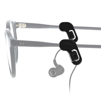 SoundMAGIC earphone cable ear guide for glasses