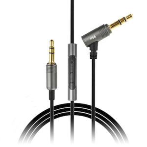 SoundMAGIC headphone cable with 3 button remote 3.5mm jack to 3.5mm jack - 1.2m