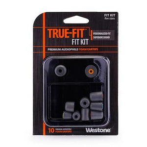 Westone True-Fit Foam Eartips Combo Pack