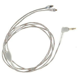 Shure EAC64CLS Clear Replacement Audio Cable - 1.6m