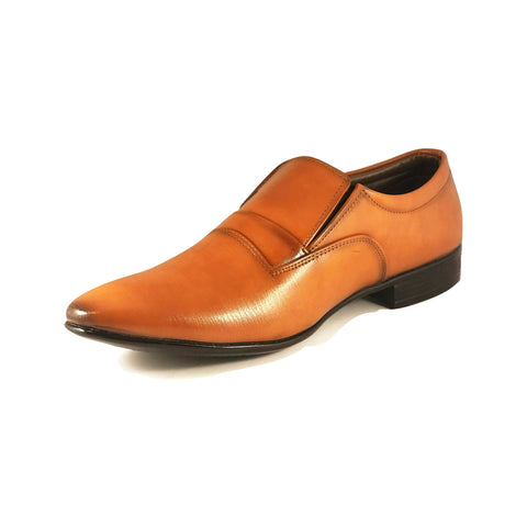 Men's Plain Toe Loafer at Caga Shoe store