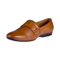 Men's Contemporary Patterned Loafers - CAGA SHOES