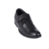 Men's Traditional Plain Toe Monk Strap - CAGA SHOES