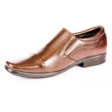 Men's Cap Toe Clear Tone Loafer - CAGA SHOES