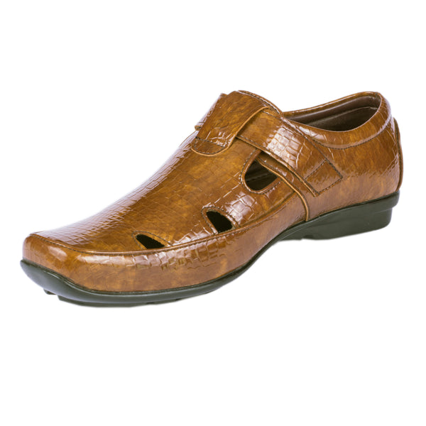 Men's Sandal Slip On with Air Vents - CAGA SHOES