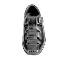 Men's Sandal Slip On Cap Toe and Pattern - CAGA SHOES