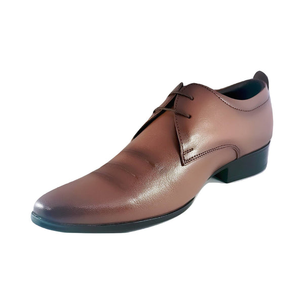 Men's Close Toe Patterned Oxfords - CAGA SHOES