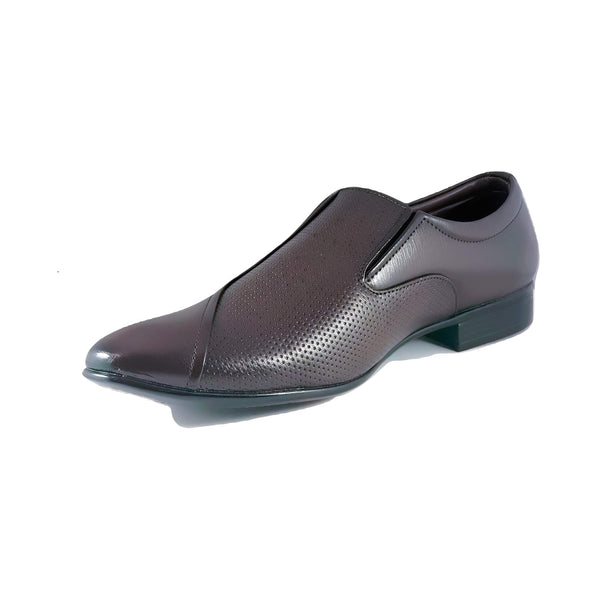 Men's Slip On with Semi Patterned Upper - CAGA SHOES