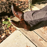 Cap Toe Monk Strap shoes